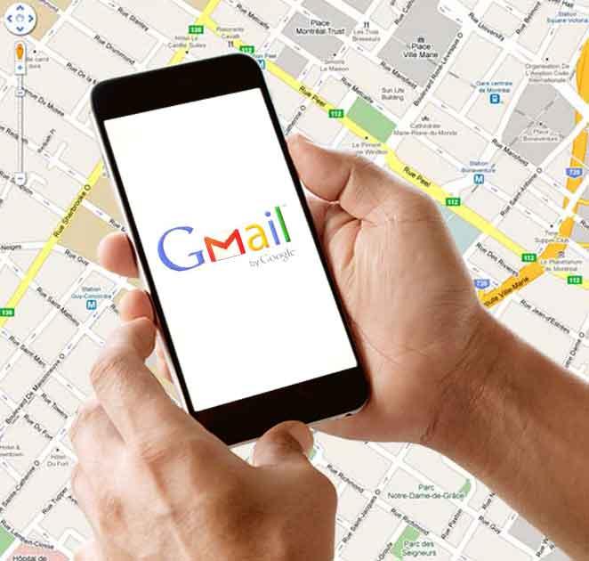 Encontar celular con Gmail
