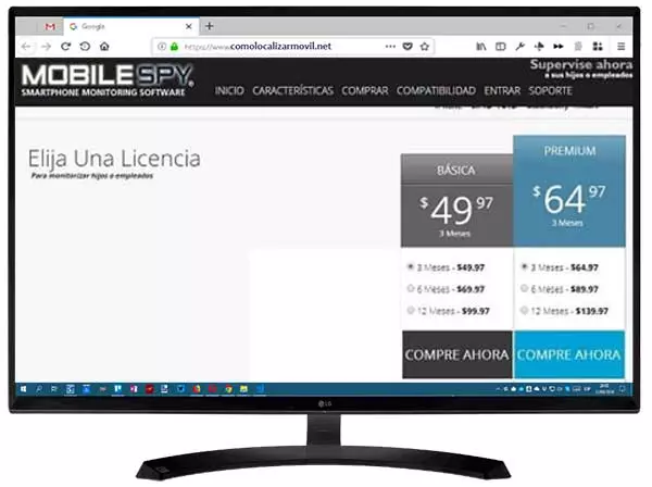 Mobile Spy, un clásico del monitoreo de celulares