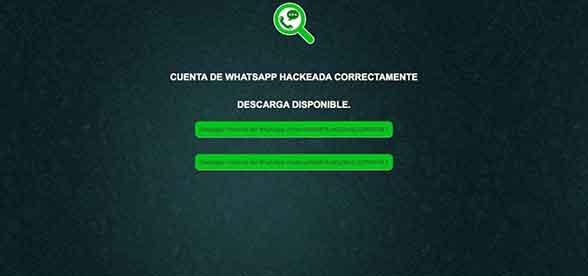 Hackingtor, web para espiar WhatsApp